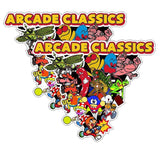 Arcade Classics Multicade Side Art Triangle Version