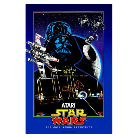 Star Wars Arcade Game Poster Print