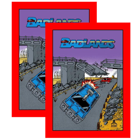 Badlands Side Art Decal Set