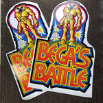 Bega's Battle Arcade Side Art