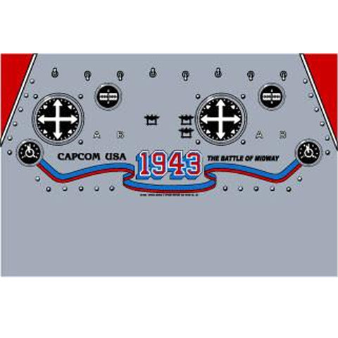 1943 Battle of Midway CPO - Control Panel Overlay
