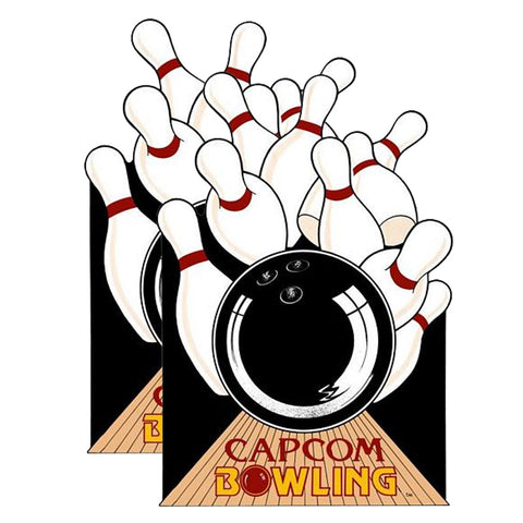 Capcom Bowling Side Art Decals