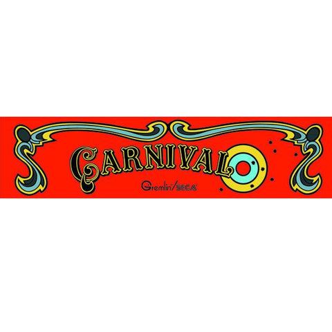 Carnival Arcade Marquee