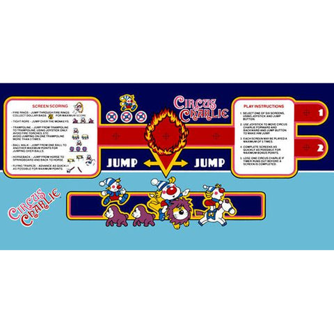 Circus Charlie CPO - Control Panel Overlay