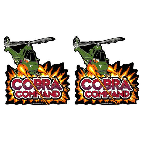 Cobra Command Side Art Decals