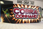 Cobra Command Marquee Plexiglass