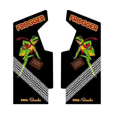 Frogger Side Art Wrap