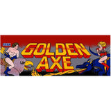 Golden Axe Arcade Marquee