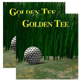 Golden Tee Fantasy Side Art Decals