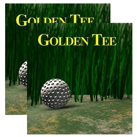 Golden Tee Fantasy Side Art Decals (SDS)