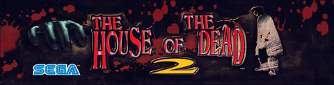 House of the Dead 2 HOTD2 Arcade Marquee
