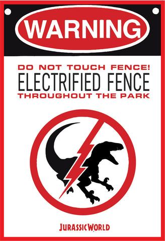 Jurassic Park - Electrified Fence