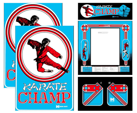 Karate Champ Complete Restoration Kit