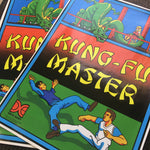 Kung Fu Master Side Art Decals