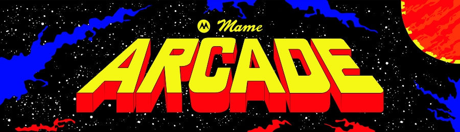 Mame Multicade Arcade Marquee Defender Version Escape