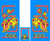 Ms. Pac-Man Full Side Art/Kickplate Set