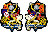 Multi Williams Multicade Side Art Decals