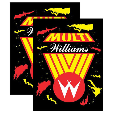Multi Williams Multicade Side Art (Defender Version)