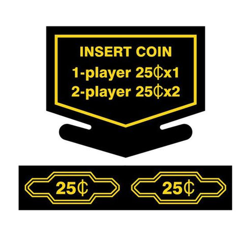 Nintendo Coin Sticker Set