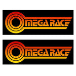 Omega Race Side Art Decals