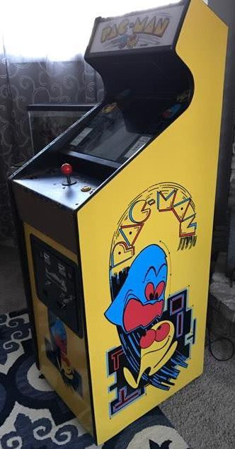 Pac Man Cabaret Arcade Side Art Amp Kick Full Wrap Escape