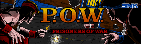 POW Prisoners of War Arcade Marquee