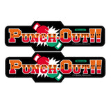 Punch Out (X-Large) Side Art Decals