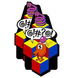 Qbert Side Art Decal Set - Die Cut