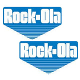 Eyes Rock-Ola Side Art Decals