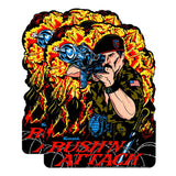 Rush N Attack or Green Beret Side Art Decals