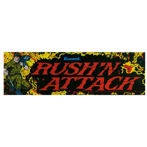 Rush'n Attack Arcade Marquee