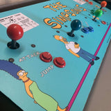 Simpsons CPO - Control Panel Overlay 4 Player