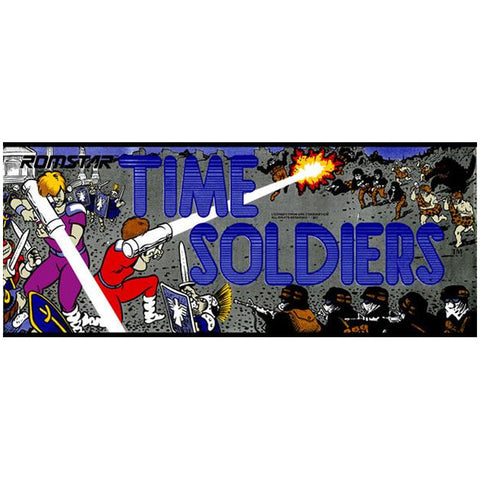 Time Soldiers Arcade Marquee
