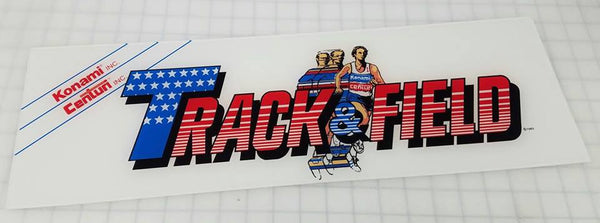 Track & Field Arcade Marquee