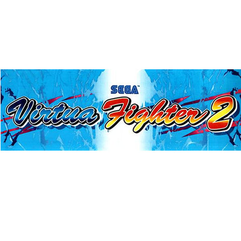 Virtua Fighter 2 Arcade Marquee