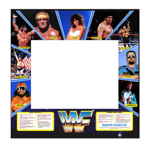 WWF Superstars Arcade Bezel