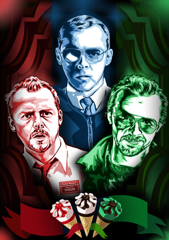 Simon Pegg Trilogy