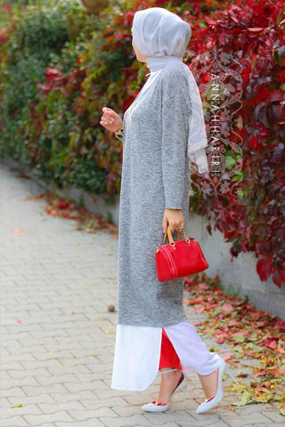 Maxi Shirt Dress Islamic wear