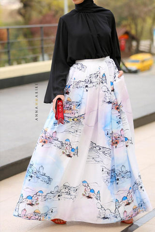 Jerusalem Modest Skirt