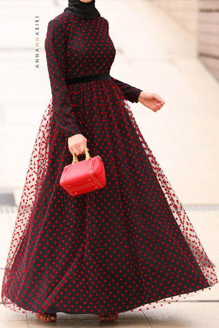 Tulle Red Dress