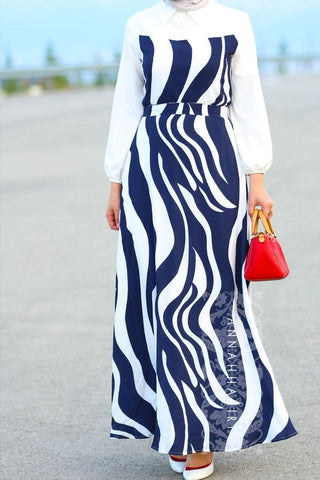 white flowy maxi dress