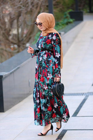 Chilly Modest Dress