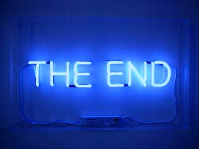 ... The end...