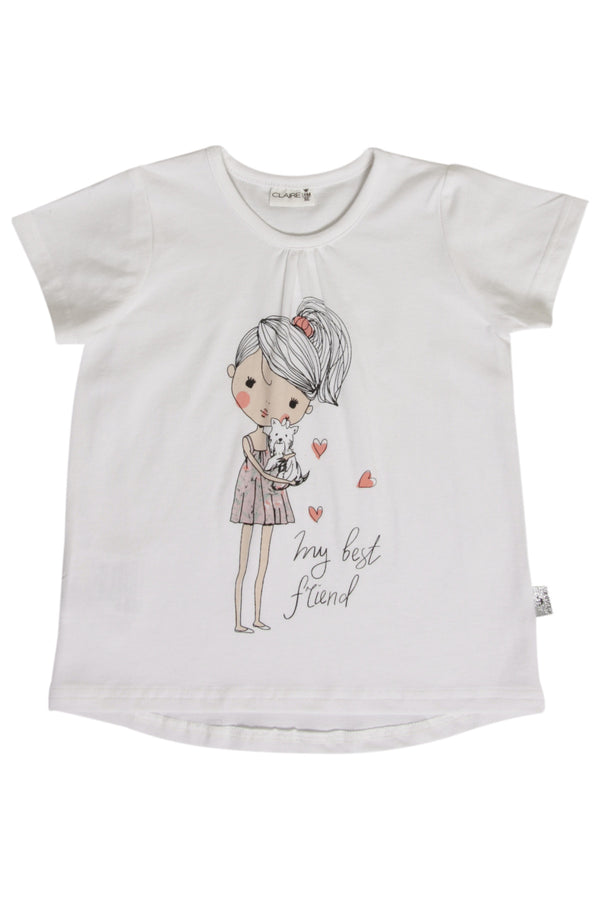 Hust & Claire T-shirt med print