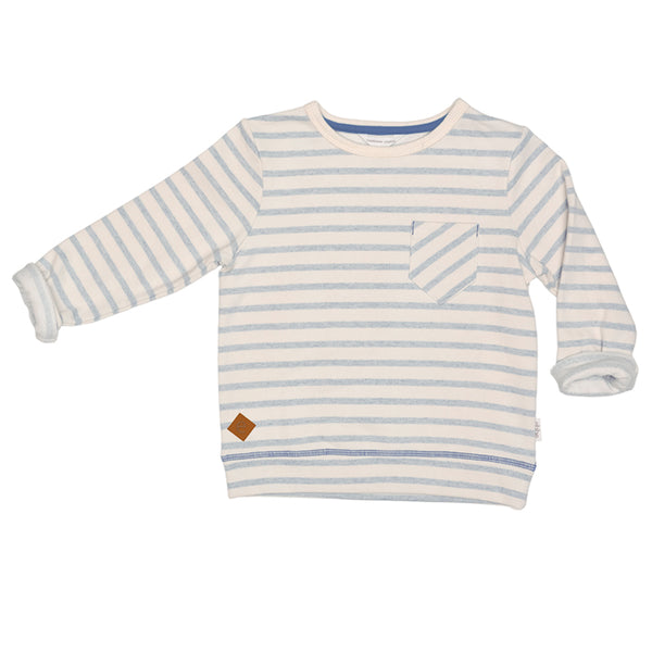 Ebbe stribet sweatshirt