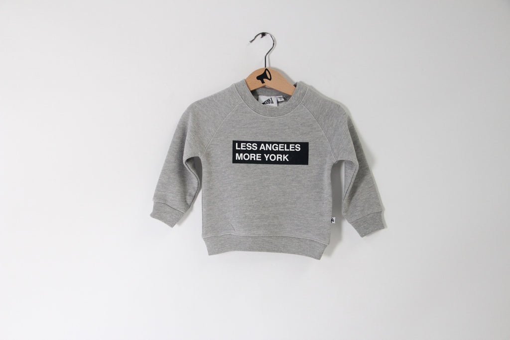 Cos I said so! LA/NY sweater