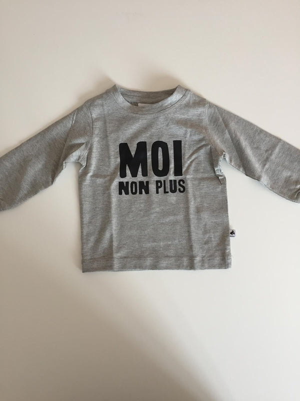 Cos I said so 'Moi non plus' langærmet t-shirt