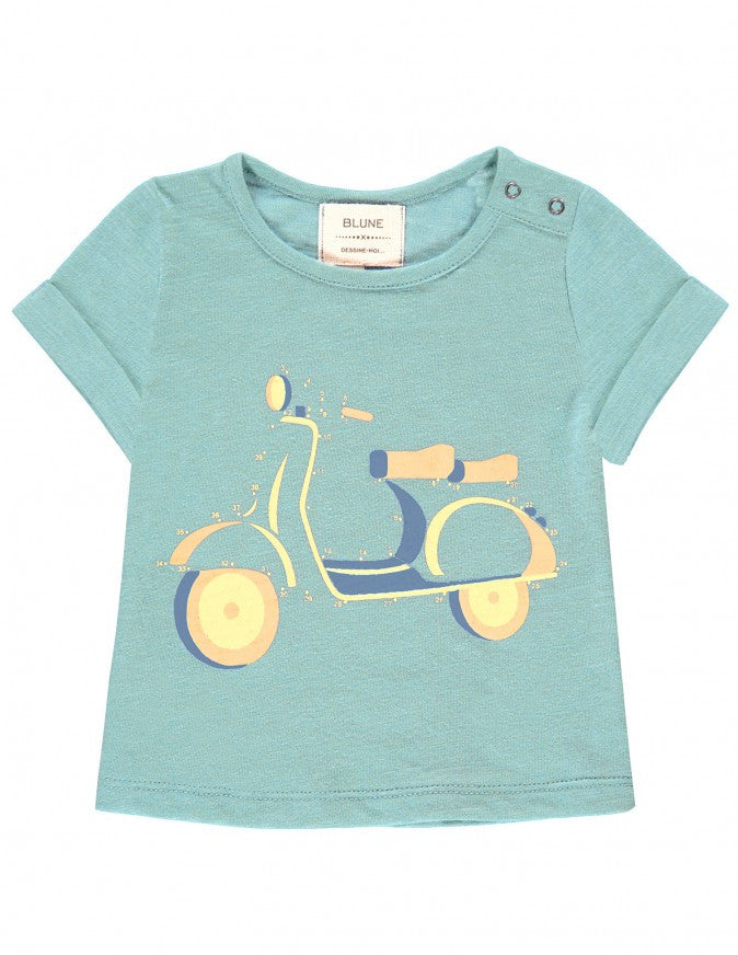 Blune T-shirt scooter