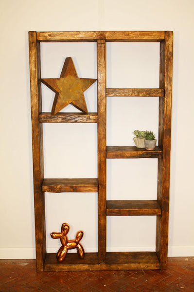 Froekn Reclaimed Wood Shelving Unit | Hand & Craft Furniture