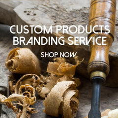 custom woodworking branding service